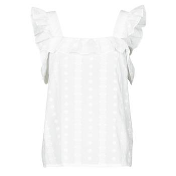 Textiel Dames Tops / Blousjes Betty London OOPSA Wit
