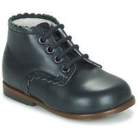 Schoenen Meisjes Hoge sneakers Little Mary VIVALDI Blauw