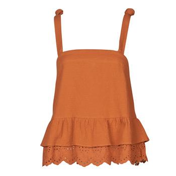Textiel Dames Tops / Blousjes Betty London OULINE Rouille