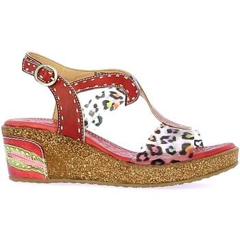 Schoenen Dames Sandalen / Open schoenen Laura Vita HACKEO 06 Rouge Rouge