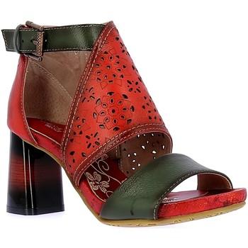 Schoenen Dames Sandalen / Open schoenen Laura Vita HACSIO03Rouge Rouge