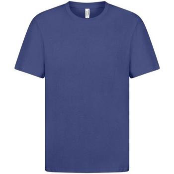 Textiel Heren T-shirts korte mouwen Casual Classics  Blauw