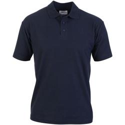 Textiel Heren Polo's korte mouwen Absolute Apparel  Marine