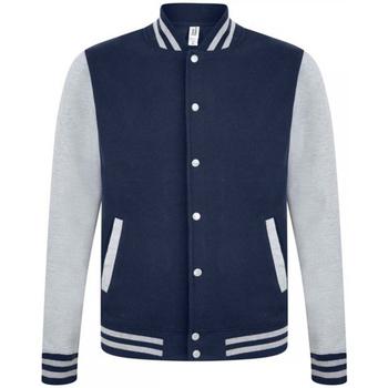 Textiel Heren Wind jackets Casual Classics  Navy/Grijs