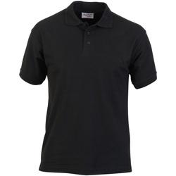 Textiel Heren Polo's korte mouwen Absolute Apparel  Zwart