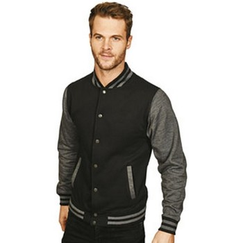 Textiel Heren Wind jackets Casual Classics  Zwart/Grijs