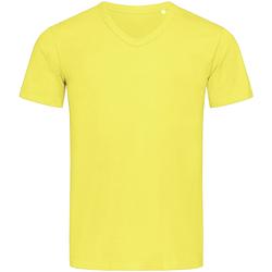 Textiel Heren T-shirts korte mouwen Stedman Stars  Geel