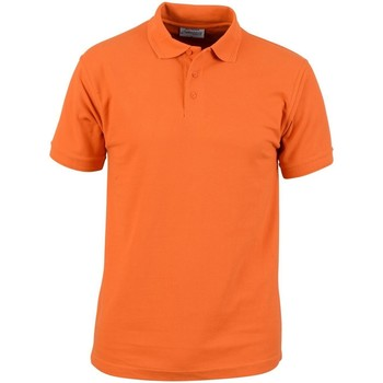 Textiel Heren Polo's korte mouwen Absolute Apparel  Oranje
