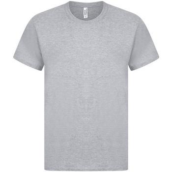 Textiel Heren T-shirts korte mouwen Casual Classics  Grijs