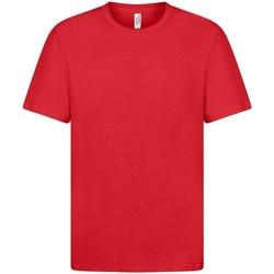 Textiel Heren T-shirts korte mouwen Casual Classics  Rood
