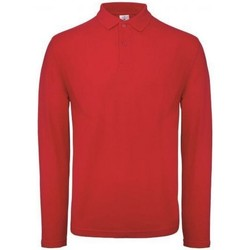 Textiel Heren Polo's lange mouwen B And C PUI12 Crimson