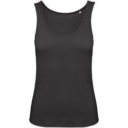 Textiel Dames Mouwloze tops B And C TW073 Zwart