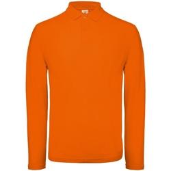Textiel Heren Polo's lange mouwen B And C PUI12 Helder oranje