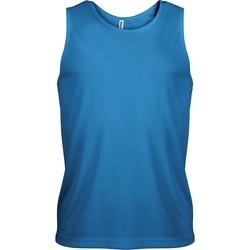 Textiel Heren Mouwloze tops Proact Débardeur  Sport bleu eau