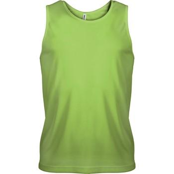 Textiel Heren Mouwloze tops Proact Débardeur  Sport vert fluo
