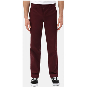 Textiel Heren Chino's Dickies S/stght work pant Bordeaux
