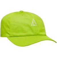 Accessoires Heren Pet Huf Cap essentials tt logo cv 6 panel bio Groen