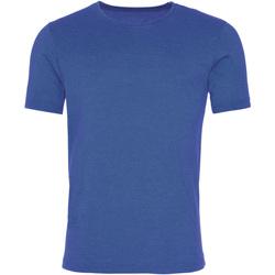 Textiel Heren T-shirts korte mouwen Awdis JT099 Gewassen koningsblauw