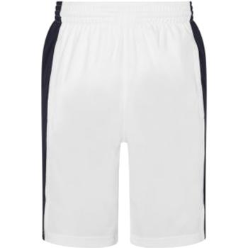Textiel Heren Korte broeken / Bermuda's Awdis JC089 Arctische wit/franse marine