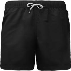 Textiel Heren Korte broeken / Bermuda's Proact Short de bain court noir