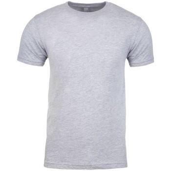 Textiel T-shirts korte mouwen Next Level NX3600 Heide Grijs