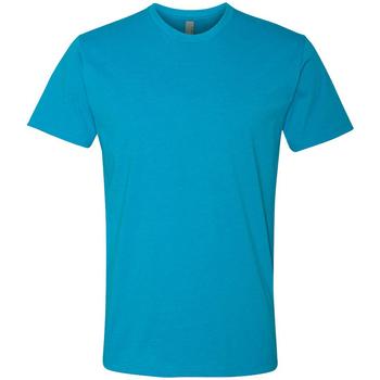 Textiel Heren T-shirts korte mouwen Next Level NX6210 Turquoise