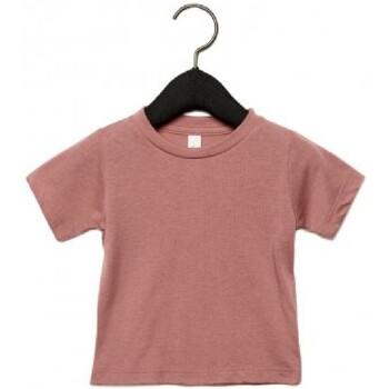 Textiel Kinderen T-shirts korte mouwen Canvas CA3413T Mauve Triblend
