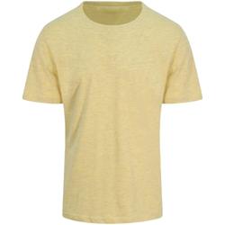 Textiel Heren T-shirts korte mouwen Awdis JT032 Surf Geel
