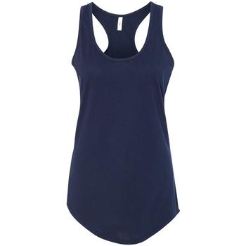 Textiel Dames Mouwloze tops Next Level NX1533 Middernacht marine