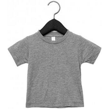 Textiel Kinderen T-shirts korte mouwen Canvas CA3413T Grijze Triblend