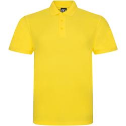 Textiel Heren Polo's korte mouwen Prortx RX101 Geel