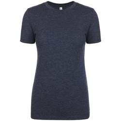 Textiel Dames T-shirts korte mouwen Next Level NX6710 Vintage Marine