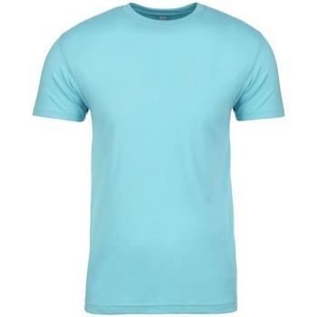 Textiel T-shirts korte mouwen Next Level NX3600 Tahiti Blauw