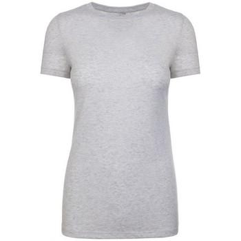 Textiel Dames T-shirts korte mouwen Next Level NX6710 Heidewit