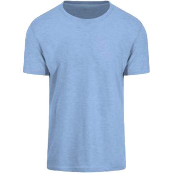 Textiel Heren T-shirts korte mouwen Awdis JT032 Surf Blauw