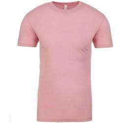 Textiel T-shirts korte mouwen Next Level NX3600 Lichtroze
