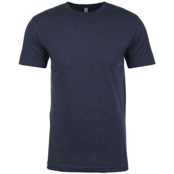Textiel Heren T-shirts korte mouwen Next Level NX6210 Middernacht marine