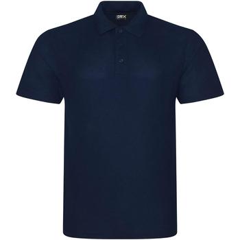 Textiel Heren Polo's korte mouwen Prortx RX101 Marine