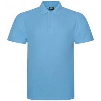 Textiel Heren Polo's korte mouwen Prortx RX101 Hemelsblauw