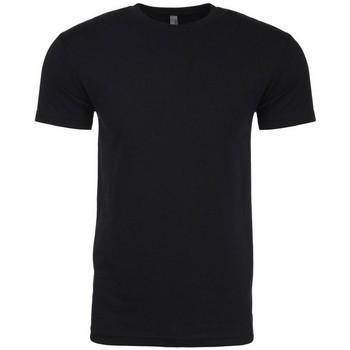 Textiel Heren T-shirts korte mouwen Next Level NX6210 Zwart