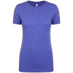 Textiel Dames T-shirts korte mouwen Next Level NX6710 Vintage Koninklijk Blauw