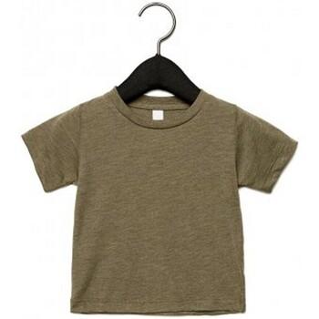 Textiel Kinderen T-shirts korte mouwen Canvas CA3413T Olijf Triblend