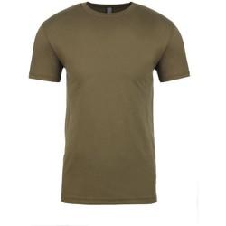 Textiel T-shirts korte mouwen Next Level NX3600 Militair Groen