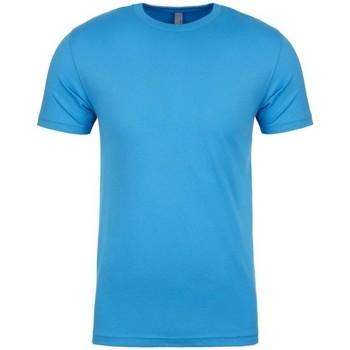 Textiel T-shirts korte mouwen Next Level NX3600 Turquoise