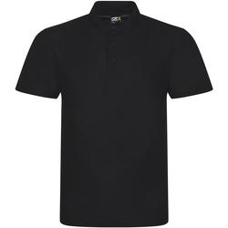 Textiel Heren Polo's korte mouwen Prortx RX101 Zwart