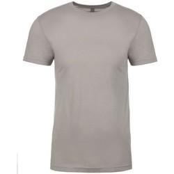 Textiel T-shirts korte mouwen Next Level NX3600 Lichtgrijs