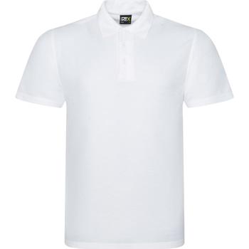Textiel Heren Polo's korte mouwen Prortx RX101 Wit