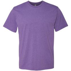 Textiel Heren T-shirts korte mouwen Next Level NX6210 Paarse Spoed