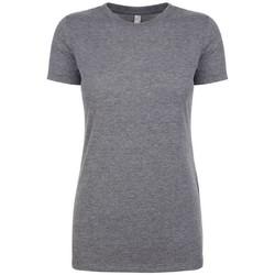 Textiel Dames T-shirts korte mouwen Next Level NX6710 Premium Heather