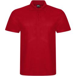 Textiel Heren Polo's korte mouwen Prortx RX101 Rood